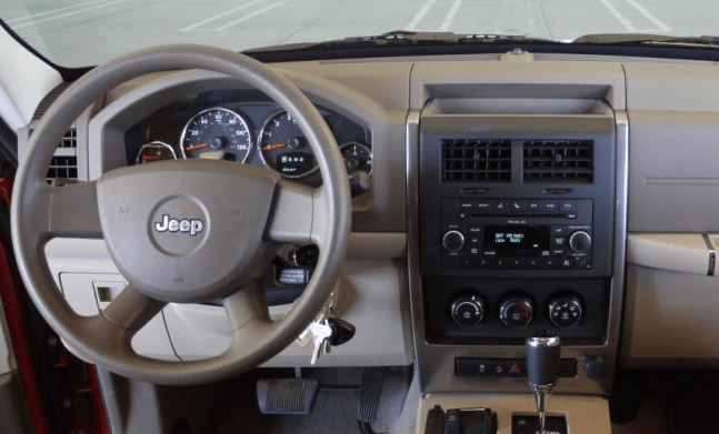 2010 Jeep Liberty Interior and Redesign