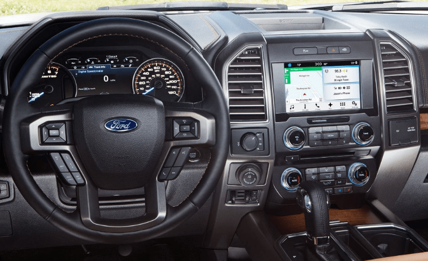 2017 Ford F-150 Interior and Redesign