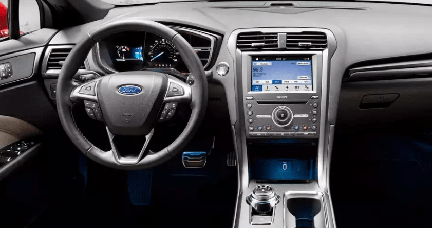 2017 Ford Fusion Interior and Redesign