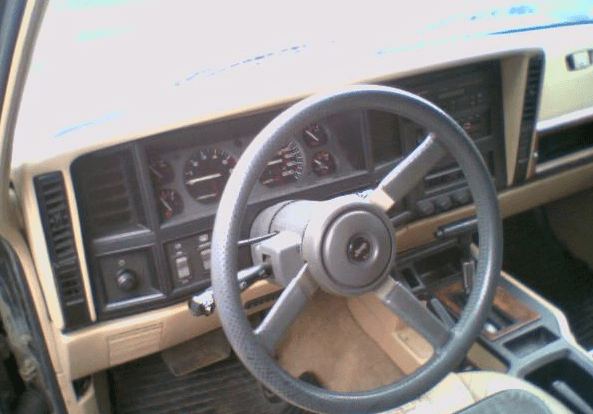 1993 Jeep Cherokee Interior and Redesign