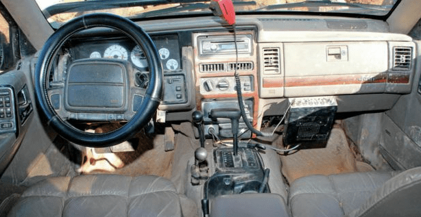 1994 Jeep Grand Cherokee Interior and Redesign