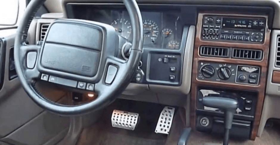 1995 Jeep Grand Cherokee Interior and Redesign