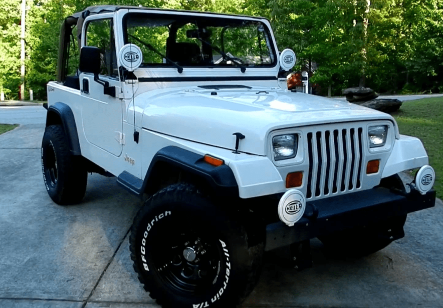 1995 Jeep Wrangler Owners Manual and Concept