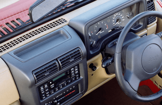 1997 Jeep Wrangler Interior and Redesign