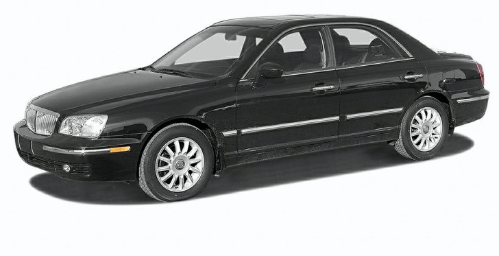 2004 Hyundai XG350 Owners Manual and Concept