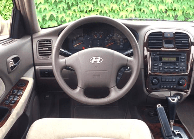 2005 Hyundai Sonata Interior and Redesign