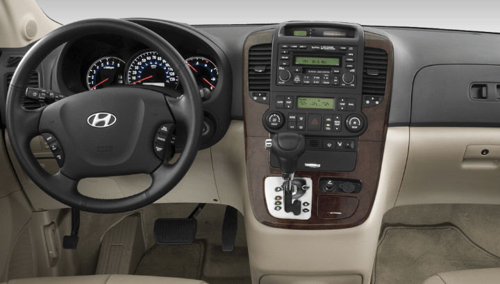 2008 Hyundai Entourage Interior and Redesign