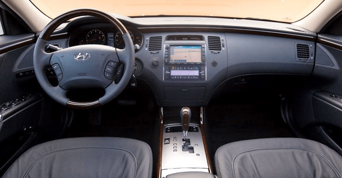 2011 Hyundai Azera Interior and Redesign