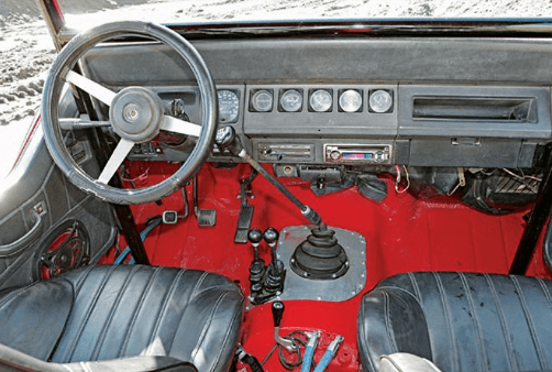 1992 Jeep Wrangler Interior and Redesign