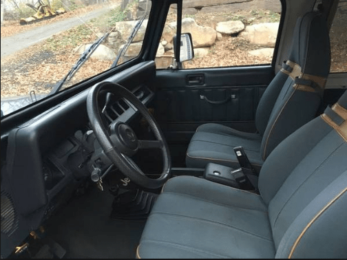 1994 Jeep Wrangler Interior and Redesign