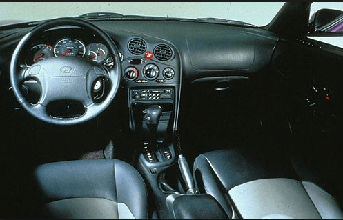 1998 Hyundai Tiburon Interior and Redesign