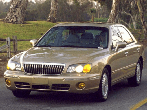 2001 Hyundai XG300 Owners Manual and Concept
