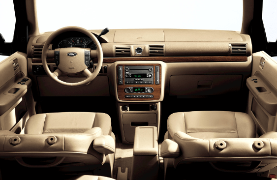 2005 Ford Freestar Interior and Redesign