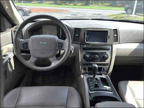 2005 Jeep Cherokee Interior and Redesign