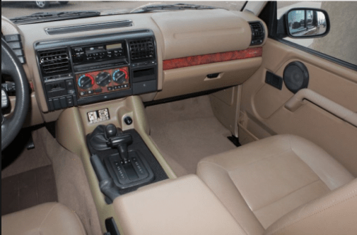 1995 Land Rover Discovery Interior and Redesign