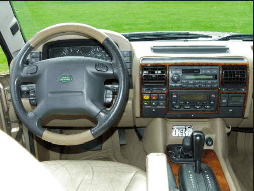 2000 Land Rover Discovery Interior and Redesign
