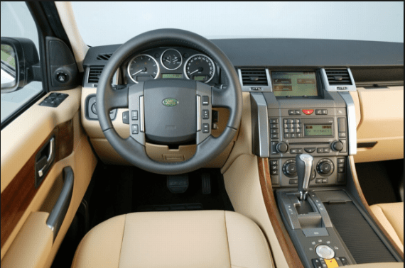 2007 Land Rover Range Rover Sport Interior and Redesign