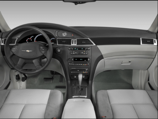2008 Chrysler Pacifica Interior and Redesign