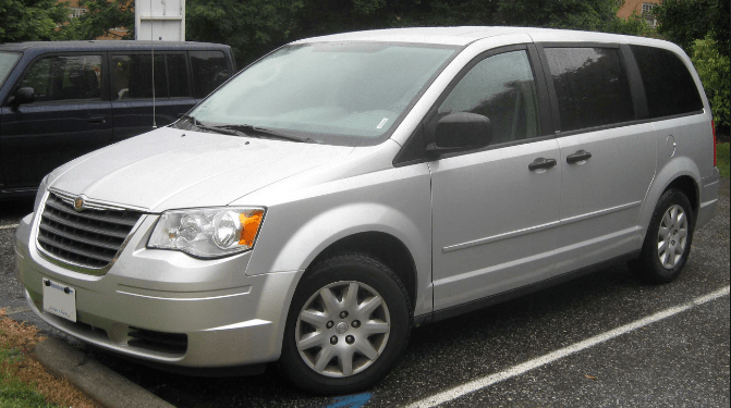2008 Chrysler Town & Country Owners Manual and Concept