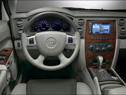 2010 Jeep Commander Interior and Redesign