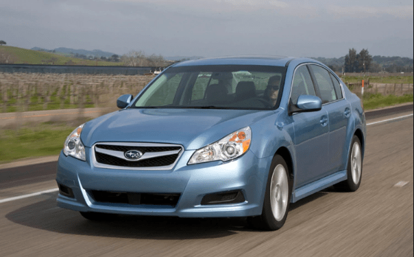2010 Subaru Legacy Owners Manual and Concept
