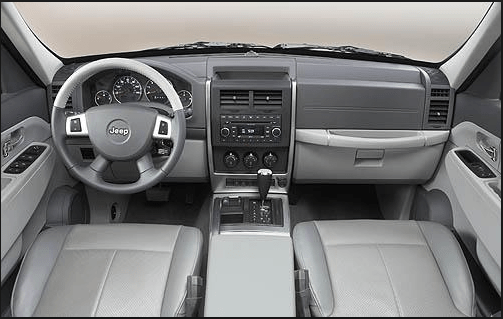 2012 Jeep Liberty Interior and Redesign