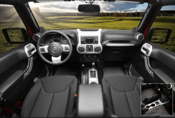 2012 Jeep Wrangler Unlimited Interior and Redesign