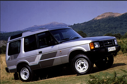 1990 Land Rover Discovery Owners Manual and Concept