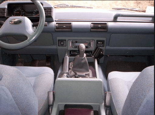 1992 Land Rover Discovery Interior and Redesign