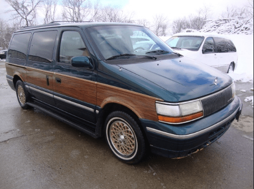 1994 Chrysler Town & Country Owners Manual and Concept