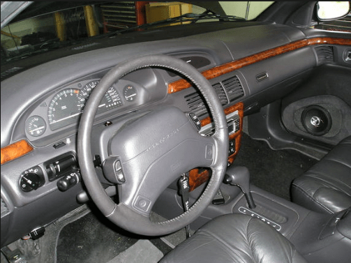 1995 Chrysler LHS Interior and Redesign