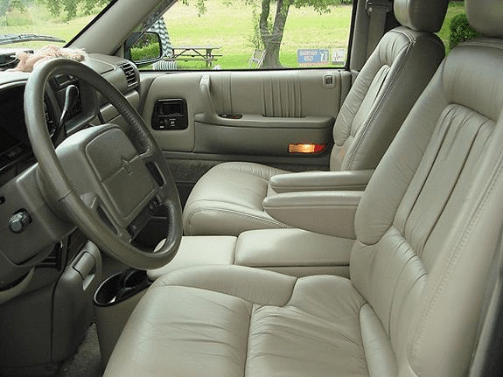 1995 Chrysler Town & Country Interior and Redesign