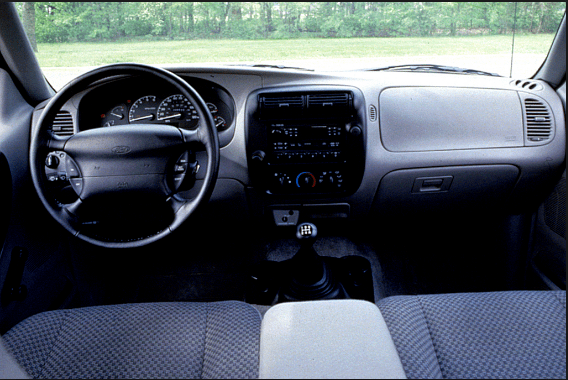 1998 Ford Ranger Interior and Redesign