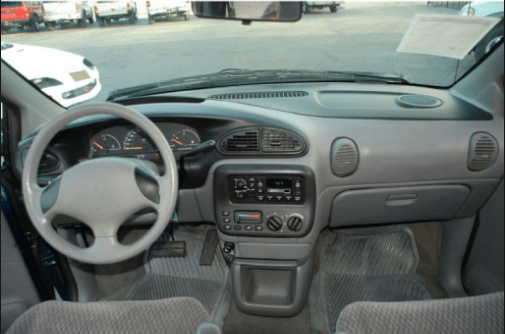 2000 Chrysler Voyager Interior and Redesign