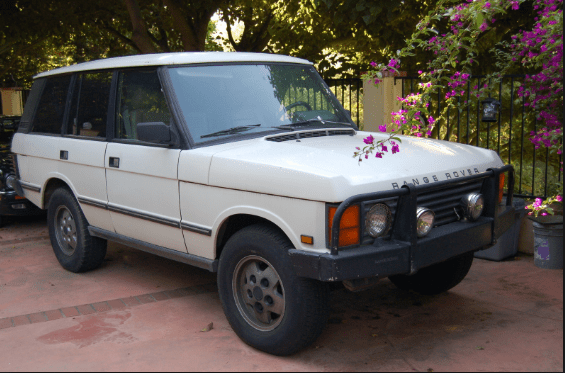 1991 Land Rover Range Rover Owners Manual and Concept