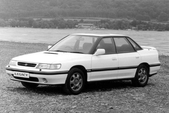 1992 Subaru Legacy Owners Manual and Concept