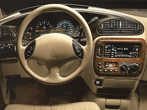 1998 Chrysler Town & Country Interior and Redesign