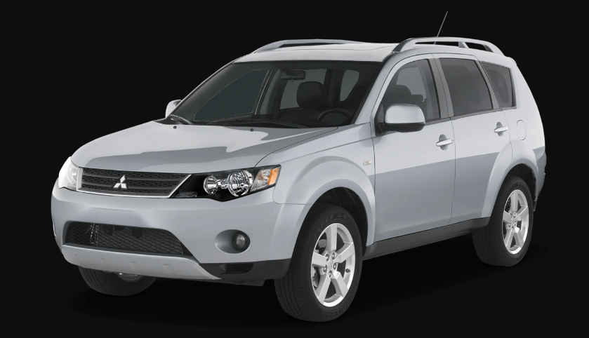 2008 Mitsubishi Outlander Concept and Owners Manual