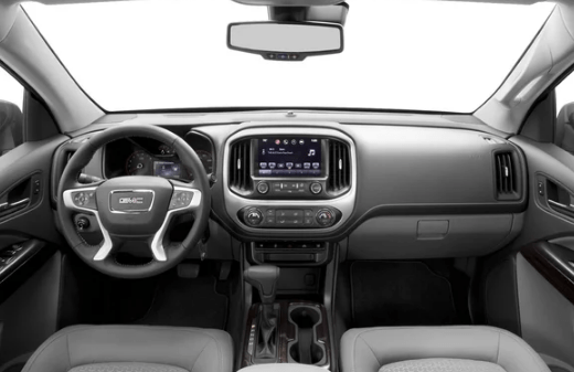 2017 GMC Canyon Interior and Redesign