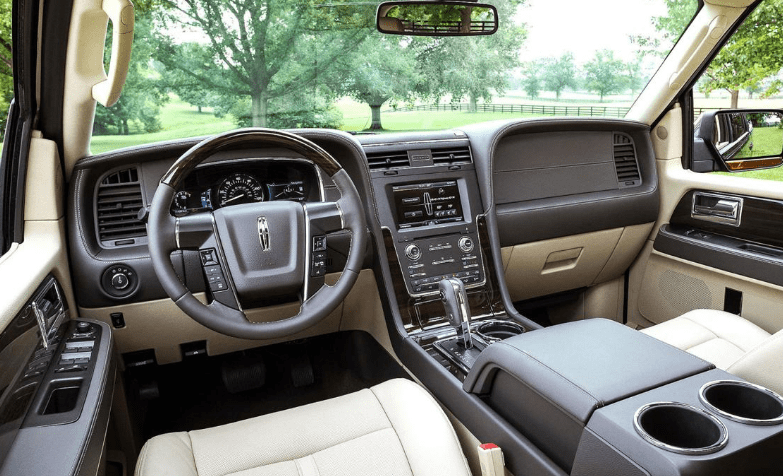 2017 Lincoln Navigator Interior and Redesign