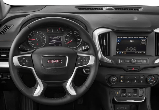 2018 GMC Terrain Interior and Redesign