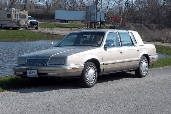 1992 Chrysler New Yorker Owners Manual
