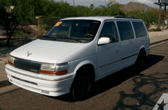 1992 Chrysler Town and Country Owners Manual