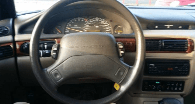 1994 Chrysler Concorde Interior and Redesign