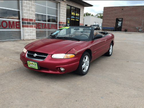 1997 Chrysler Sebring Owners Manual and Concept