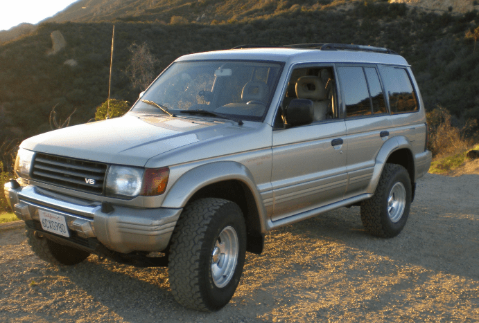 1997 Mitsubishi Montero Owners Manual