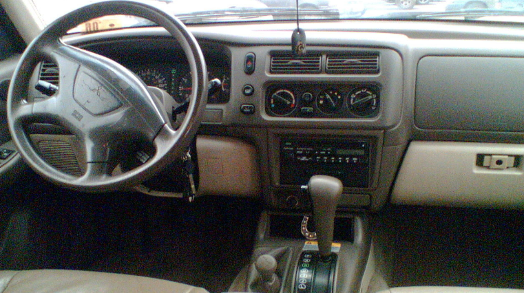1997 Mitsubishi Montero Interior and Redesign
