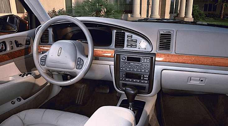 1999 Lincoln Continental Interior and Redesign