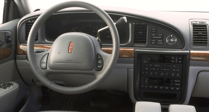 2000 Lincoln Continental Interior and Redesign