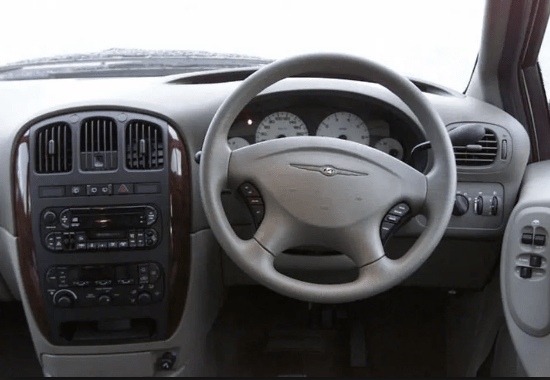 2001 Chrysler Voyager Interior and Redesign